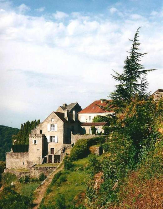 Château-Chalon, la Rochette ancienne maison de chanoinesse