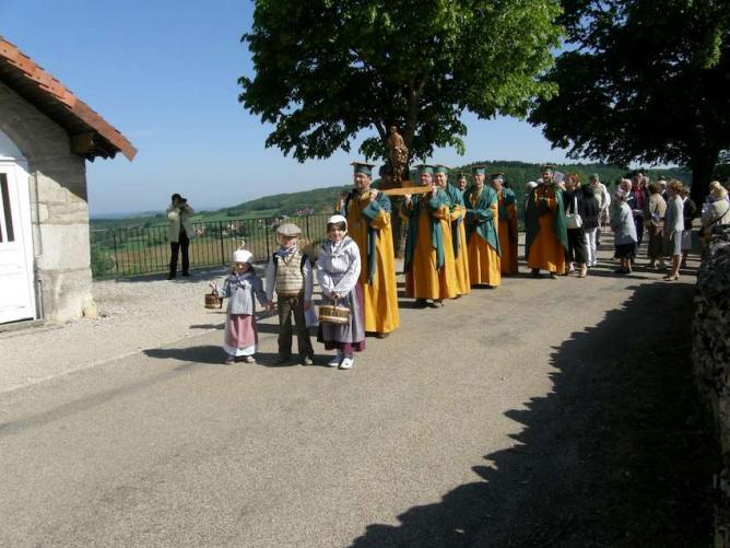 La procession de St Vernier