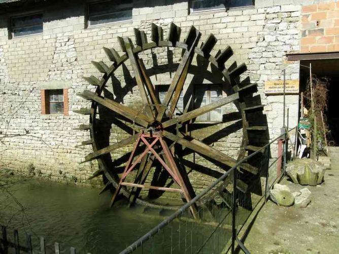 Vaudrey - Moulin du Val d'Amour